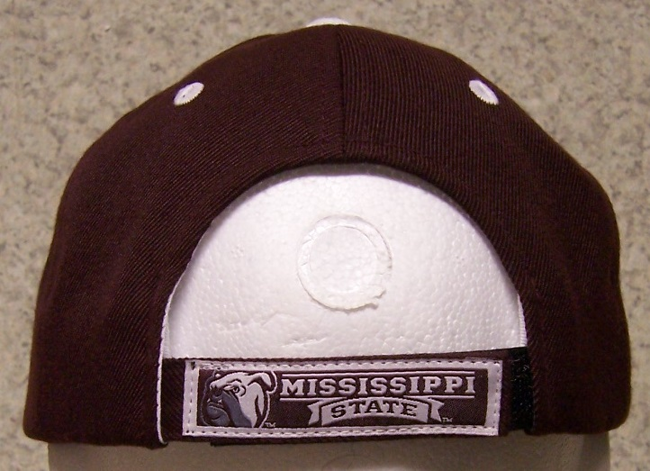 embroidered baseball cap ncaa mississippi state bulldogs
